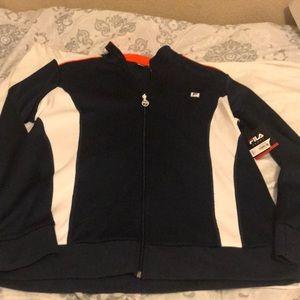 Fila athletic runner jacket